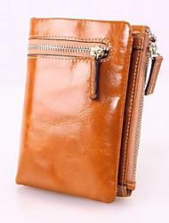 Minaudière / Portefeuille / Etui à Carte & Pièce d'Identité / Mobile Bag Phone - Double Portefeuille -Violet / Bleu / Marron / Rouge /