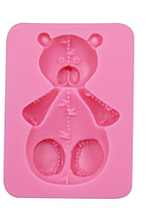 Silicone Bear Mold,Resin Clay Chocolate Candy Silicone Cake Mold,Fondant DecorationTools,Cupcake Mold SM-052
