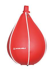 winmax® sac de PVC de vitesse de boxe rouge / vitesse de balle