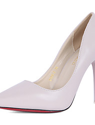 Women's Wedding Shoes Heels / Pointed Toe Heels Wedding / Dress Black / Red / Beige