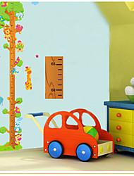 Cartoon Animals On The Tree Height Measurement Wall Sticker Kindergarten Children's Room   Wall Decoration