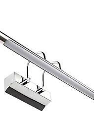 AC 90-240 12W LED Intégré Moderne/Contemporain Plaqué Fonctionnalité for LED,Vers le Bas Applique murale