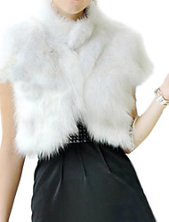Women's Fox Fur Vest Fur Coat