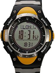Da uomo / Da donna / Unisex Orologio sportivo DigitaleLCD / Altimetro / Compass / Termometri / Calendario / Cronografo / Resistente