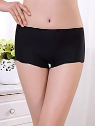 Women's Sexy Ice Silk Seamless Panties Boy shorts & Briefs Underwear