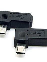 cy® право поворота 90 градусов женский мини-USB для мужчин Micro USB для телефонов / планшетов