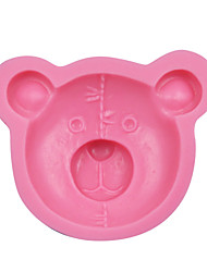 New Arrival Cute Bear Shape Cake Mold Fondant Cake Molds Soap Chocolate Mold For The Kitchen Baking Cake Tools SM-041