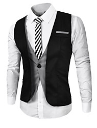 Men's cultivate one's morality false two colours suit vest work leisure fashion vest vest MAIB12