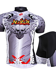 NUCKILY Bike/Cycling Jersey / Shorts / Padded Shorts / Jersey + Pants/Jersey+Tights / Clothing Sets/Suits / Tops Unisex Short Sleeve
