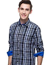 JamesEarl Herren Hemdkragen Lange Ärmel Shirt & Bluse Lila - DA112047304