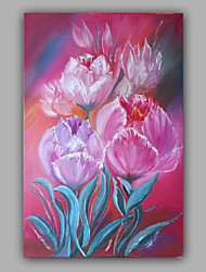 Flower Oil painting on Canvas Stretched Design