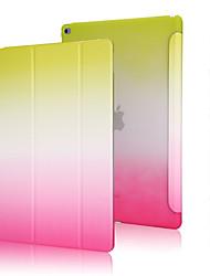 хорошее качество PU кожаный чехол радуга градиента для Ipad мини 3/2/1