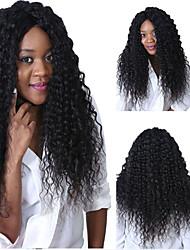 """8 """"-26"""" brasileña rizada rizada peluca llena del cordón del pelo virginal&encaje multicolor peluca delantera opcional con el pelo del"""