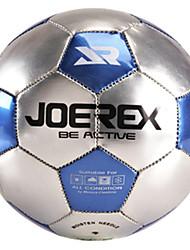 JOEREX® 2# Machine Sewn Metallic Shining PVC Soccer Ball