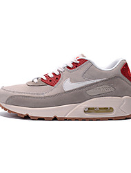 nike air max 90 essentiële mannen indoor pumps lederen grijs