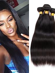 unprocessed human peruvian virgin hair mixed length 3 bundles 300g straight human hair weave extensions