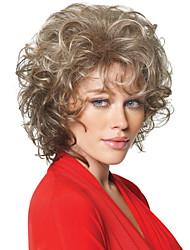 Middle Length Hair European Weave Light Blonde Hair Wig