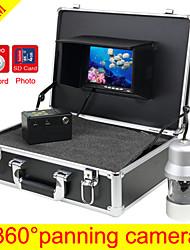 Poissons 100m viseur 360 ° panoramique caméra, visualisation grand angle caméra pêche sous-marine fonction DVR 4 Go gratuitement la carte