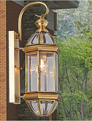 Outdoor Lamp, Garden Lamp, Outdoor Lamp, Full Copper Lamp