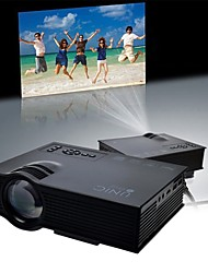 UNIC Newest Mini Led Projector Home Theater Portable Lcd Projector HD 1080p with Wifi 2.4G Wireless Screen Push UC46