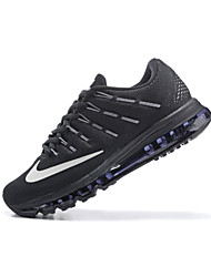 nike air max mannen indoor pumps leer zwart