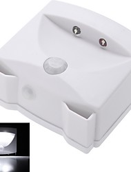 New PIR Auto Energy Saving 2 LED Indoor and Outdoor Mighty Light infrared Motion Sensor Light for Cabinet Walkway Steps