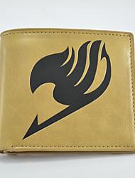 Fairy Tail Cartoon Fashion Wallet Short Students Leather Wallets Men'S Wallet Women'S Wallet