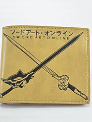 Domain Of The Sword Cartoon Fashion Wallet Short Students Leather Wallets Men'S Wallet Women'S Wallet