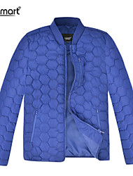 Lesmart Men's Casual Winter Quilted Jacket Baseball Collar Sports Lightweight Warm Outerwear