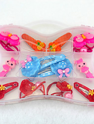 Girls Hair Accessories Hair Tie / Clips & Claws , All Seasons Others