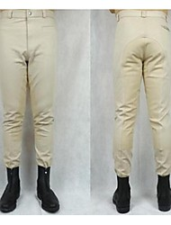 бриджи галифе Конный профессиональные высокие упругие брюки вязание половины кожаные для верховой езды для мужчин и женщин