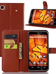 la carte en relief housse de protection pour ZTE max + n9521 de téléphone mobile