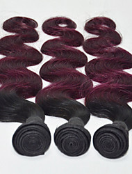 Tejidos Humanos Cabello Cabello Malayo Ondulado Grande 6 Meses 3 Piezas los tejidos de pelo