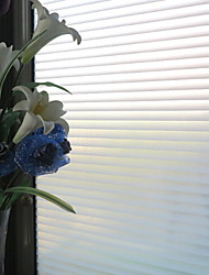 Classic Waves Stripes Pattern Window Film