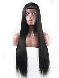 """10""""-30"""" Glueless Full Lace Wigs Peruvian Virgin Hair Straight Lace Front wig  Full Lace Human Hair Wigs For Black Women"""