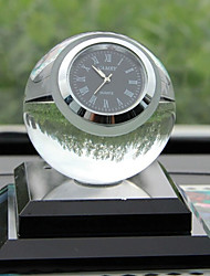Creative Crystal Ball Watches Decoration