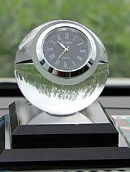 bola de cristal criativo relógios decoração