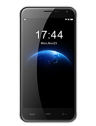 "homtom HT3 5.0 ""Android 5.1 3G Smartphone (Dual-SIM-Quad-Core-5MP + 2mp 1gb + 8 GB schwarz / silber)"