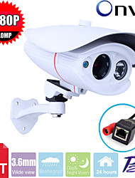 CCTV Sony CMOS 2MP Megapixel HD 1080P Waterproof  2pcs Array Leds Ir-cut  3.6mm IP Camera Surveillance Camera