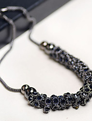 New Arrival Fashion Jewelry Luxury Gem Bead Necklace