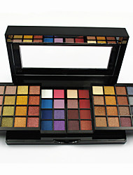 Professional Makeup Kit 48 Matte And Shimmer Eyeshadow Palette 2 Blusher Powder 2 Face Powder for Fairy and Daily Makeup