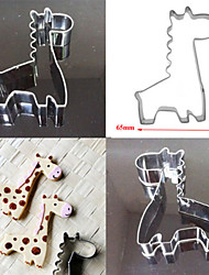 Stainless Steel Giraffe Cake Cookie Bread Cutters Biscuit Mold DIY Decorating Tool