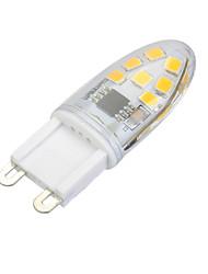 3W G9 Luci LED Bi-pin Modifica per attacco al soffitto 14 SMD 2835 100-200 lm Bianco caldo / Luce fredda Intensità regolabile AC 220-240 V