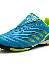 Zapatos Fútbol Sintético Negro / Azul Hombre