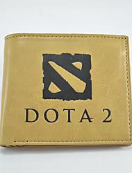 Dota2 Cartoon Fashion Wallet Short Students Leather Wallets  Men'S Wallet Women'S Wallet
