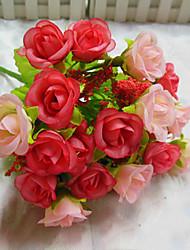 Polyester Rosen Künstliche Blumen