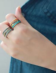Кольца на вторую фалангу Сплав Мода Бижутерия Повседневные 1 комплект