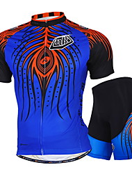 NUCKILY Bike/Cycling Jersey / Shorts / Jersey + Pants/Jersey+Tights / Clothing Sets/Suits / Tops Unisex Short SleeveWaterproof /