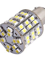 2шт автомобилей T25 BAY15d 1157 хвост стоп тормоза лампы 3528SMD белые 60 LED Light 12v