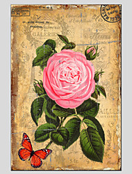 Stretched Canvas Oil Painting Art Flower style 60*90CM